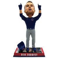 Chicago CUBS Ben Zobrist Ticket Base World Series Bobblehead #/2,017