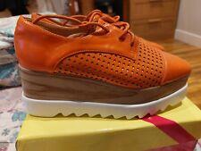 Orange Platform Lace Up Size Uk 6 EUR 40