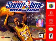 NBA Showtime NBA On NBC N64 Great Condition Fast Shipping