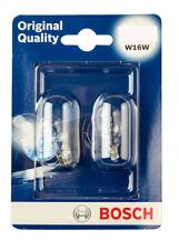 2x Bosch Reverse Light Bulb For Ford Fiesta MK6 MK7 O/E SPEC