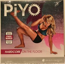 New Piyo Hardcore On The Floor workout fitness (Only 1 Dvd) chalene johnson