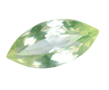 Natural Green Apple Peridot Marquise 5.95 Ct Top Quality Certified Gemstone