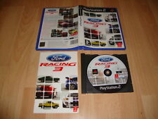 FORD RACING 3 DE EMPIRE INTERACTIVE PARA LA SONY PS2 USADO COMPLETO