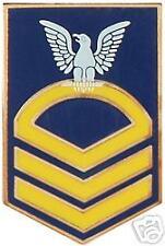 USN NAVY E-7 CPO RANK COLOR PIN
