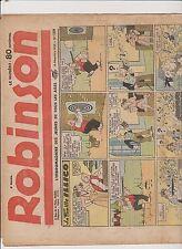 ROBINSON n°189 - 10 décembre 1939 - bel état, rousseurs