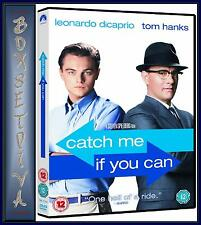 CATCH ME IF YOU CAN - Leonardo DiCaprio  & Tom Hanks  **BRAND NEW DVD  **