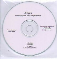 (295L) Allegro, Citylights / Stringys / Alright - DJ CD