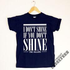 The Killers T-SHIRT band lyrics  - read my mind i don't shine if you don't shine
