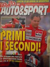 ROMBO 25 1992 Gp Canada : 1° Berger 3° Alesi - Lancia Delta Si ad Auriol