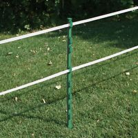 20 X GREEN 3FT POLY POSTS -  84cm 33' Electric Fencing Fence Stakes Pony Sheep
