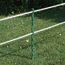 environ 1.22 m 30 x 4 Ft Blanc Électrique escrime postes clôture Poly Plastique Cheval Paddock Pole