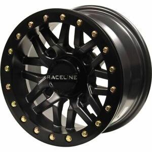 Gunmetal 15x7, 4/137, 5+2 Raceline Ryno Beadlock Wheel - A91G-57037-52
