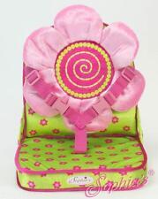 "Folding Portable Flower Doll Seat Carrier 18"" American Girl Dolls"