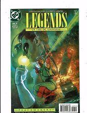 Lot of 3 Legends Dc Comic Books #7 8 9 Green Lantern Green Arrow Lh15