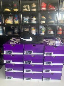 New Nike SB Zoom Blazer Mid 864349-007 Black/Black/White Size 9/12/13