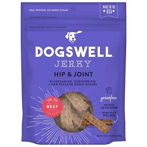 Dogswell Hip And Joint Blend Beef Flavor Dog Jerky 10 Ounces