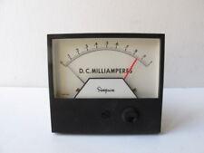 Simpson 21668 3324aixa Analog Panel Meter Relay 0 1 Milliamperes 4 12 Ssp