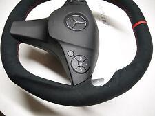 Mercedes Steering Wheel W204 C63 AMG C class GLK flat rare Edition 1 black style