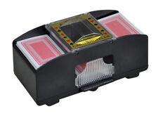 Automatischer Kartenmischer Kartenmischmaschine Mischmaschine 2 Karten-Decks