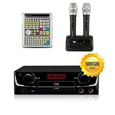 TJ Taijin Media Car and Home Karaoke TKR-360CK +wireless mic for overseas Korean