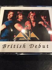 Asia Wetton Howe Palmer Live 4 Silver Cd British Debut Yes Heat Moment Emerson
