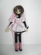 Card Captor Sakura  Doll Pink kitty Outfit Bendy Clamp Cute Vintage
