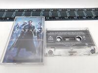 The Matrix Cassette Motion Picture Soundtrack Audio Tape 47395-4 C18-1