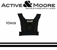 MORGAN 10KG WEIGHTED VEST RUGBY NRL MMA UFC CROSSFIT GYM WEIGHTS TRAINING GEAR