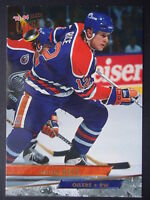 NHL 181 Steven Rice Edmonton Oilers Fleer Ultra 1993/94