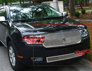 Stainless Steel 1.8mm Mesh Grille Combo For 07-10 Lincoln MKX