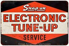 Snap-On Electronic Tune-Up Service Vintage Look Reproduction 8x12 Sign 8121451