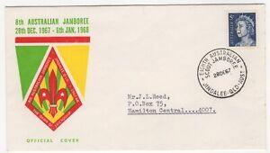 1967 Dec 28th. Souvenir Cover. 8th Australian Jamboree, Jindalee, Queensland.