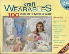 Craft Wearables 100 Projects to Make & Wear Plaid 8391 Painting Cross Stitch