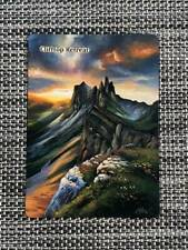 Clifftop Retreat MTG Magic Dominaria Hand Painted Altered Extended Art <(((-<