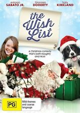 The Wish List (DVD, 2016) (Region 4) Aussie Release