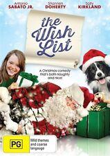 Wish List, the NEW R4 DVD