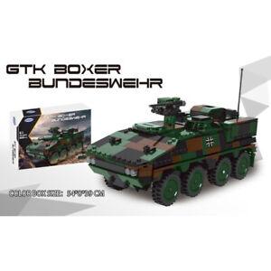 Xingbao GTX Boxer Military Armored Car Bundeswehr 808pcs Block Set New 06043