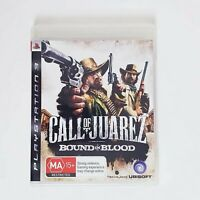 Call of Juarez Bound in Blood - Sony Playstation 3 PS3 - Free Postage + Manual