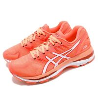 Asics Gel-Nimbus 20 Flash Coral White Women Running Shoes Sneakers T850N-700