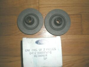 NOS 1975 - 1979 Ford F100 F250 F350 Lower Body Bolt Retainers D4TZ-1000157-C