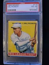 1933 Goudey #118 VAL PICINICH PSA 4 VG-EX. Check out my other listings!