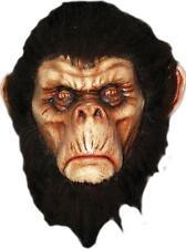 Adulto Marrón Bad Monos Completo Máscara de Látex con Pelo Disfraz TB26268