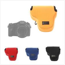 Neoprene Soft Camera Bag Case Cover For Sony Cyber-Shot DSC-RX10 HX200 HX300 New