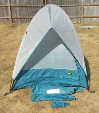 "REI Camp Hut 2 Person Tent  (6 - 7 Lbs. / 24"" Long Bagged) 81"" x 53"" ~ EUC!"