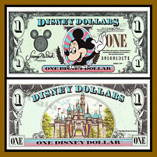 "Disney 1 Dollar, 1999 Series ""AA"" Disneyland Uncirculated"