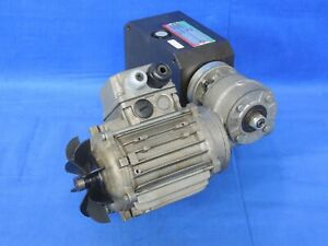 Autorotor 9-position indexer T10 09 270 with STM RMI 28FL right angle gear reduc