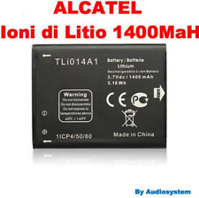 BATTERIA 1400Mah RICAMBIO PER ALCATEL ONE TOUCH OT T'POP 875 4010D tli014a1