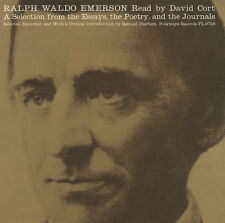 David Cort - Ralph Waldo Emerson: A Selection from the Essays [New CD]