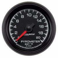 AutoMeter 0-2000 °F ES Series Analog Pyrometer Gauge * 5945 *