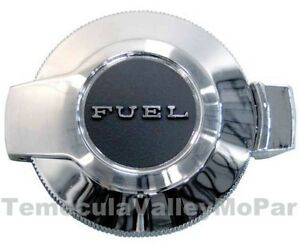 Flip Fuel Filler Cap for 1969 Plymouth Barracuda - 'Cuda A-Body